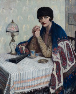 Agnes Goodsir, Girl with Cigarette, c1925, collection Bendigo Art Gallery