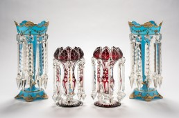 Glass Lustres, 19th century, collection Bendigo Art Gallery